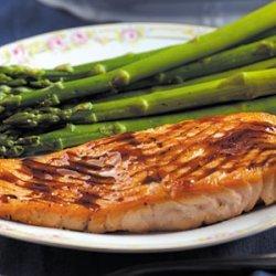 Salmon with Balsamic Sauce