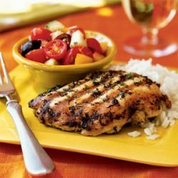 Lemon and Oregano-Rubbed Chicken Paillards
