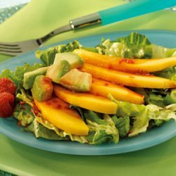Mango & Avocado Salad with Açai Berry Vinaigrette