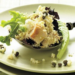 Feta-Chicken Couscous Salad with Basil