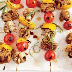 Grilled Tempeh Skewers recipe