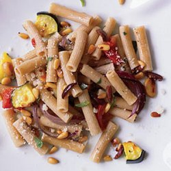 Whole Wheat Rigatoni with Roasted Vegetables recipe