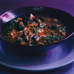 Beef, Mushroom, and Barley Soup