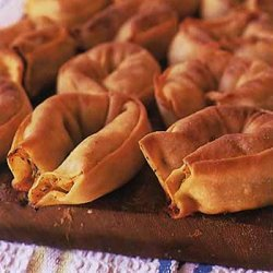 Pumpkin and Fennel Pastries recipe