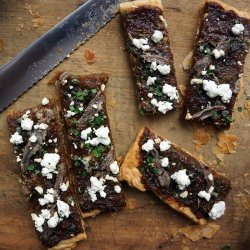 Goat Cheese and Onion Tarts