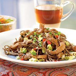 Cold Soba Noodles with Vietnamese Pork