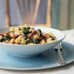 Gomiti with Broccoli Rabe, Chickpeas, and Prosciutto recipe
