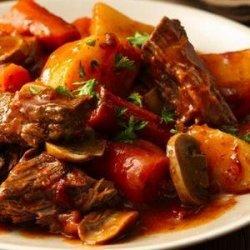 Slow Cooker Fire Roast Pot Roast