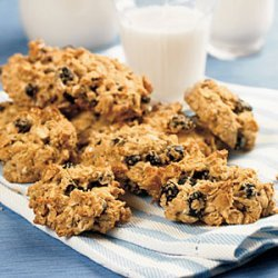 Blueberry-Walnut Oatmeal Cookies