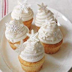 White Christmas Cupcakes recipe