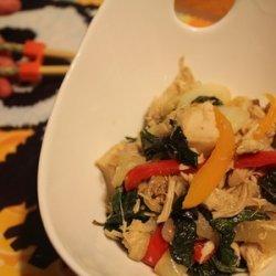 Turkey Thai Basil recipe