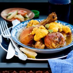 Vegetable and Chicken Curry