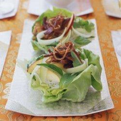Crispy Shredded Duck and Noodle Salad