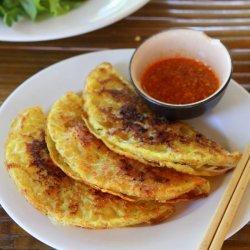 Vietnamese Shrimp and Pork Crepes