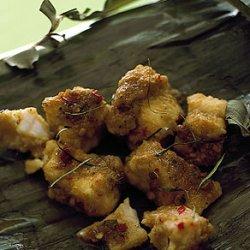 Steamed Catfish in Banana Leaves recipe