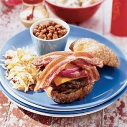 Quick Baked Beans with Smoked Bacon recipe