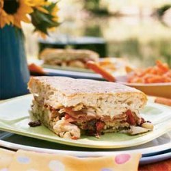 Antipasto Chicken Sandwich