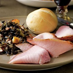 Bourbon and Orange-Glazed Ham recipe