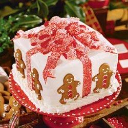 Gift Box Cake recipe
