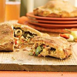 Muffuletta Calzones recipe