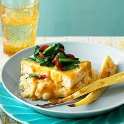 Miso-Glazed Tofu with Parsnips Two Ways recipe