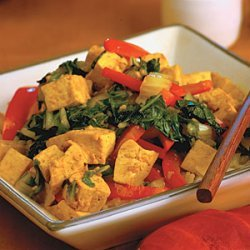 Hoisin Tofu and Vegetables