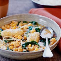 Thai Catfish Curry with Sweet Potatoes