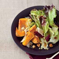 Roasted-Squash Salad with Maple Vinaigrette recipe