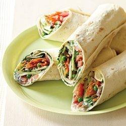 Mediterranean Garden Wraps recipe