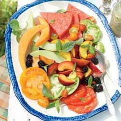 Tomato-and-Fruit Salad