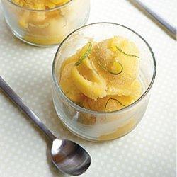 Mango-Lime Sorbet