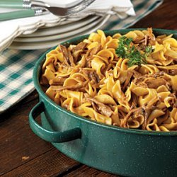 Oven Beef & Noodles recipe