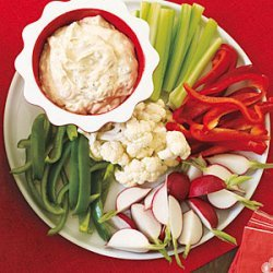 Caesar Dip with Crudites