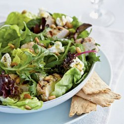 Lemon-Thyme Grilled Chicken Salad