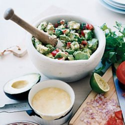 Cheese-Topped Guacamole recipe