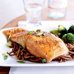 Salmon with Sweet Chile Sauce