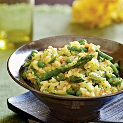 Risotto with Spring Vegetables recipe