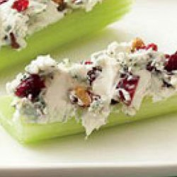 Blue Cheese and Pecan Stuffed Celery