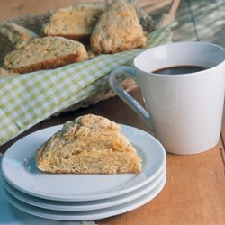 Cornmeal Scones with Sage and Cheddar