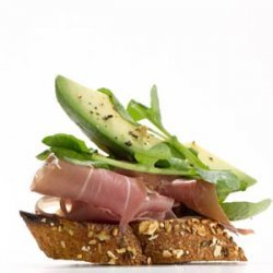 Prosciutto & Avocado Crostini recipe