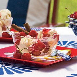Seafarers' Cherries Jubilee recipe