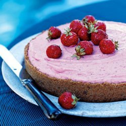 Frozen Strawberry Margarita Pie