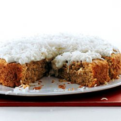 Banana Cake with Coconut Frosting recipe