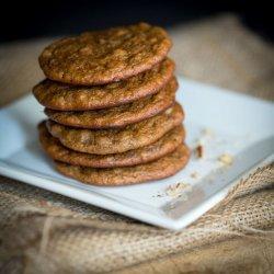 Almond and Banana Cookies