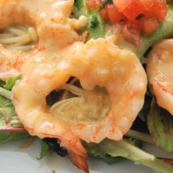 Shrimp with Orange Beurre Blanc