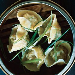 Pork and Chive Dumplings recipe