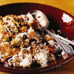Jeweled Rice with Dried Fruit