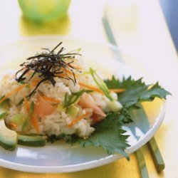 Sushi-Roll Rice Salad recipe