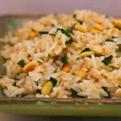 Pine Nut and Basil Rice