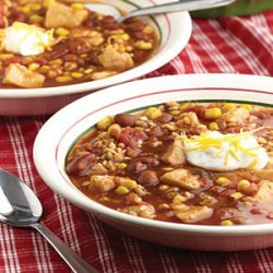 Chicken & Barley Chili